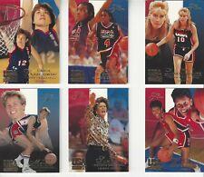 1994 FLAIR USA WOMEN'S BASKETBALL LEGEND SUBSET PAT SUMMITT  ANN MEYERS + *RARE*