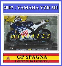 1/18 - ROSSI - YAMAHA YZR M1 2007 Jerez - Die-cast