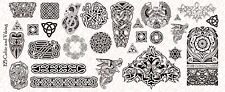 1/6 Scale Custom Tattoos: Viking Celtic pack - Waterslide Decals