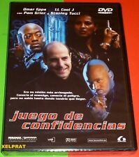 JUEGO DE CONFIDENCIAS / IN TOO DEEP -DVD R2- English español Precintada
