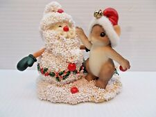 Charming Tails Snowman Like Santa New c