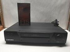 Mitsubishi Hs-U580 PerfecTape Video Recorder 4-Head Hi-Fi Vhs Vcr (Tested Works)