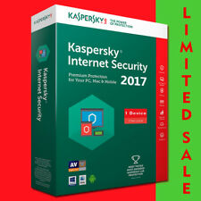 Kaspersky Internet Security 2017 1 PC/usuario/dispositivo/1 año PC/Android/Mac