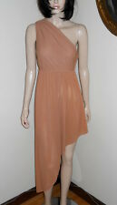 Vintage RUDI GERNREICH for L'intrigue One Shoulder Grecian Style Chemise Dress