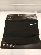 New listing Nike Fleece Neck Warmer Face Mask Unisex Gaiter Black One Size