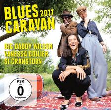 Big Daddy Wilson/Vanessa Collier/Si Cranstoun : Blues Caravan 2017 CD Album