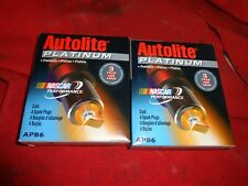 Autolite AP86 Platinum Spark Plug Set of 8