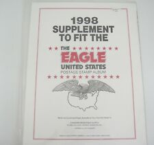Canadian Wholesale Supply 1998 The Eagle United States Stamp Album Supplement