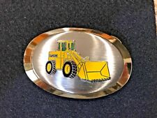 Ford Frontloader Tractor Belt Buckle Hoovers Mfg Farm Farmer Country Western