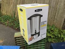 Bella Coffee Urn Pot 42 Cup Holder New In Box Brewing System Catering Kitchen