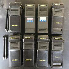 Lot Of 8 Jobcom Jbc 100 Portable Radio Walkie Talkies By Ritron Untested