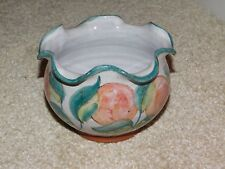 More details for honor hussey butley pottery small handpainted planter plant pot