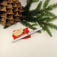Geldgeschenkhalter Weihnachten Schlitten mit Glitzer Advent