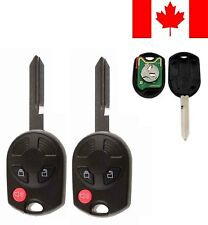 2x New Replacement Keyless Entry Remote Key Fob For Ford Mazda Lincoln Mercury