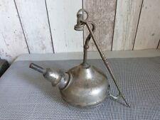 ANCIENNE  LAMPE A HUILE A VOIR