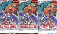 YU GI OH! 3 BOOSTERS LES FORCES SECRETES
