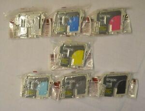 Genuine Epson T0341 T0342 T0343 T0344 T0345 T0347 T0348 STYLUS PHOTO R2100