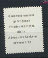 DDR Adenauermarke (kompl.Ausg.) mit Wasserzeichen 2 Y I postfrisch 1953(9119719