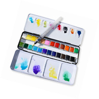 Metal case Empty Watercolor Storage Palettes Durable Useful Practical Popular