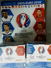 ROAD TO UEFA EURO 2016 France Empty album + 2 boxes 100 PACKS (500 STICKERS) new