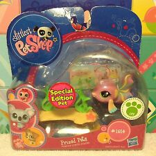 LITTLEST PET SHOP SPECIAL EDITION PET PINK GUPPY FISH #1814 NEW w/ 1 FREE PET