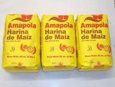 Puerto Rico Harina de Maiz Corn Meal Amapola Baking Spanish Style Cooking Food3y