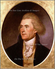 Photo: Thomas Jefferson - 3rd US President - Official White House Portrait