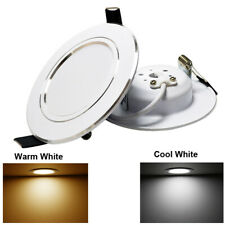 Dimmable Recessed Led Ceiling Down Light Lamp Indoor 7W 9W 12W 15W Cool White