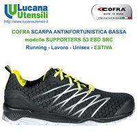 COFRA SCARPA ANTINFORTUNISTICA model SUPPORTERS S3 ESD SRC Lavoro Unisex Scarpe
