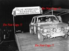 Ioannis Hasiotis & Silelis NSU 1200 TT Acropolis Rally 1972 Photographie 1