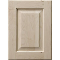 """Natural Birch 17/"""" X 38/"""" Raised Panel Cabinet Door Inserts Unfinished"""