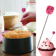 NEW Stainless Cupcake Tester Probe Skewer Cake Baking Cooking Bread Tools