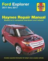 EXPLORER FORD HOP MANUAL SERVICE REPAIR HAYNES BOOK 2011-2017