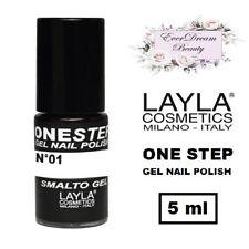 Semipermanente LAYLA ONE STEP N. 01 (100% White) - Smalto Gel Polish EVERDREAM