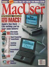 MacUser December 1992 Photoshop Jon Zilber Andy Ihnatko w/ML 083018DBE