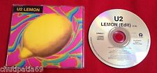 U2 LEMON UK Silver Promo CD