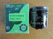 HIFLO OIL FILTER HF183 FITS ADIVA APRILIA BENELLI DERBY GILERA SEE DESCRIPTION