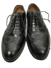 Vintage Florsheim Imperial Wingtip Oxford Mens Black Size 8 D (Sample) 8271 New