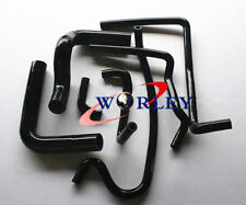 For Holden VR VS VN VP V8 5.0L SS 304 5L Silicone Radiator Heater Hose BLACK