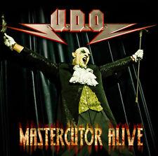 CD und DVD U.D.O. Mastercutor Alive      2CDs und DVD Set