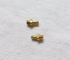 Brass 3-56 barbs for ANS or Dye 3-way switch, new - air1238