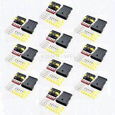 10x Superseal 5-polig Stecker Steckverbinder Wasserdicht für Auto KFZ Boot