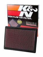 Lavable y Reutilizable K/&N E-2295 Filtro de Aire Coche