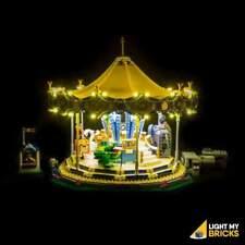 LIGHTING KIT FOR   Carousel 10257 (SET NOT INCLUDED) LIGHT MY BRICKS