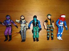 GI Joe Action Figures Mixed Lot 5 Hasbro 3.5 inch Assorted Characters Mixed B