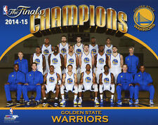 2015 NBA Champions GOLDEN STATE WARRIORS Glossy 8x10 Photo Curry Green Poster