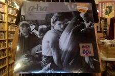 a-ha Hunting High and Low LP sealed clear colored vinyl reissue Back to the 80's