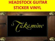 TAKAMIN GOLD STICKER HEADSTOCK GUITAR VISIT OUR STORE WITH MANY MORE MODELS