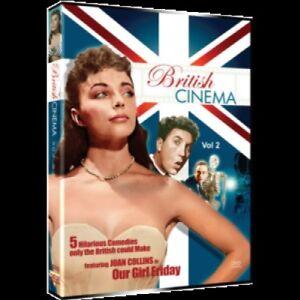 British Cinema - Volume 2: Comedy Collection (DVD, 2009, 2-Disc Set) New, Sealed