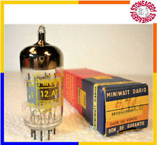 ECC81 12AT7 Philips Miniwatt, 1966, NOS, NIB, 1 pcs TESTED